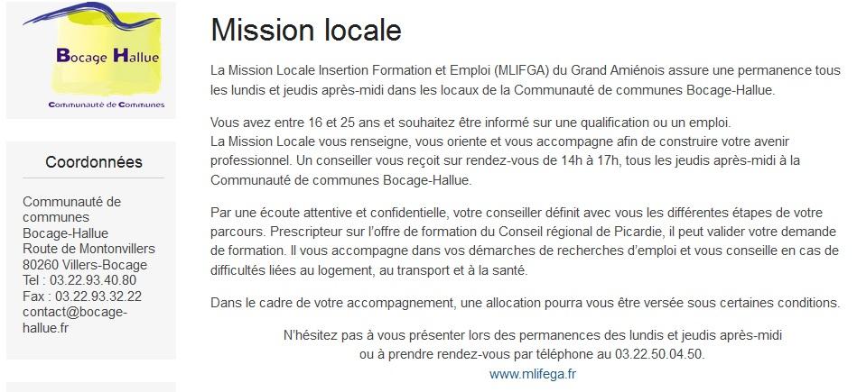 Mission Locale Pour les 16/25 ans