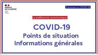 Covid 19 point sur la situation dans la somme