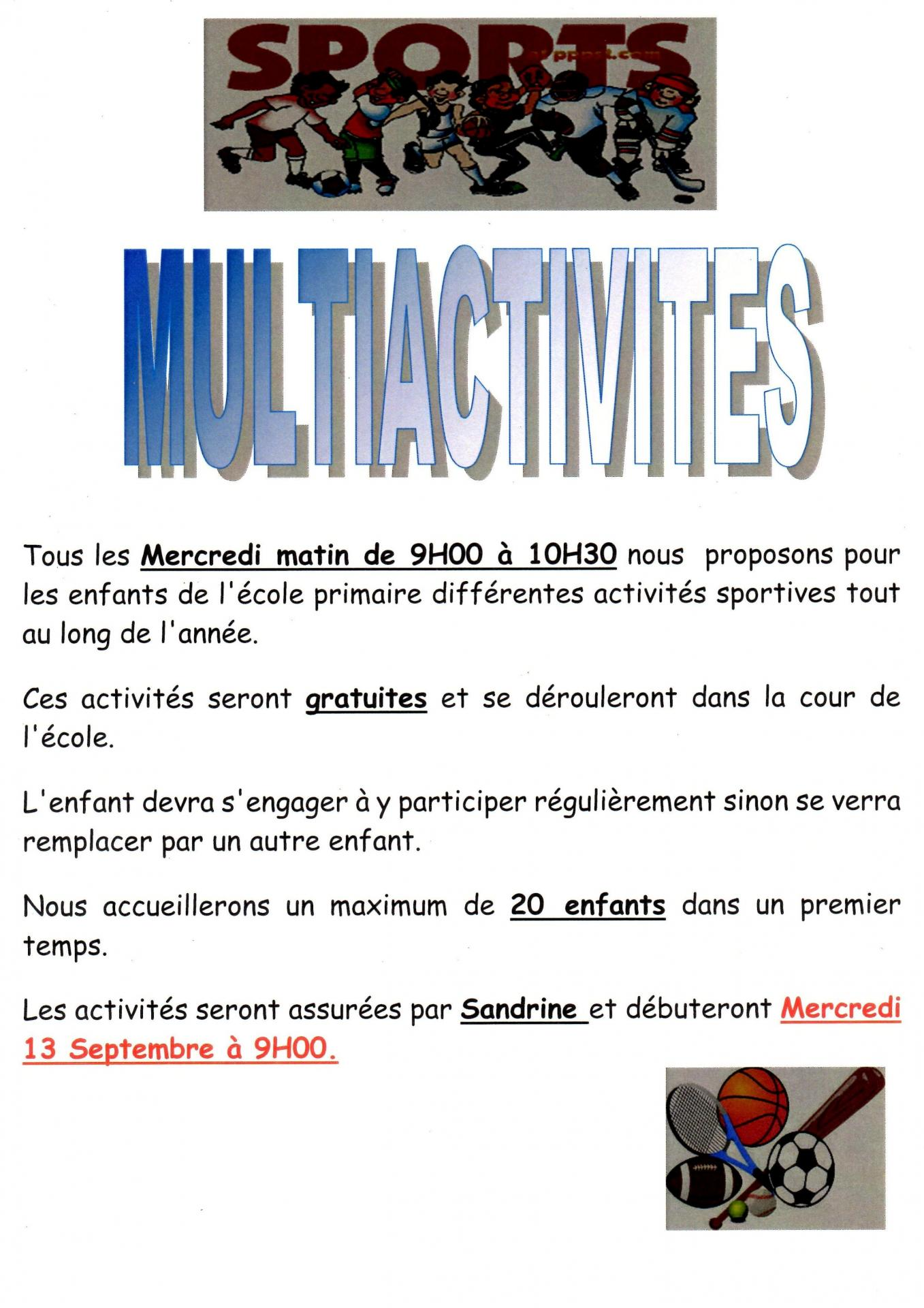Multiactivites oct 17122