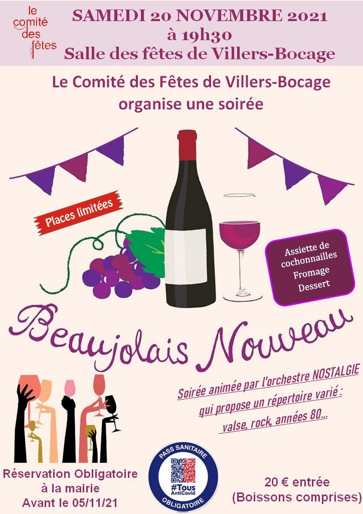 Affiche beaujolais 2021